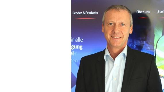 Marketingleiter Joachim Gasper